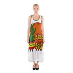 Cactus   Free Hugs Sleeveless Maxi Dress by Valentinaart
