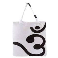 Bengali Om Symbol Grocery Tote Bag by abbeyz71