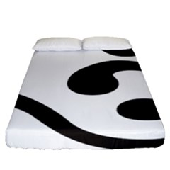 Bengali Om Symbol Fitted Sheet (queen Size) by abbeyz71
