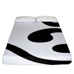 Bengali Om Symbol Fitted Sheet (king Size) by abbeyz71