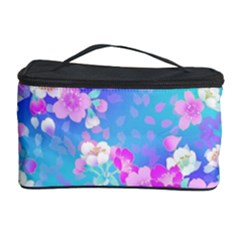 Flowers Cute Pattern Cosmetic Storage Case by Nexatart