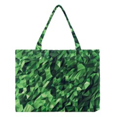 Green Attack Medium Tote Bag by Nexatart