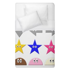 Cute Symbol Duvet Cover (single Size)
