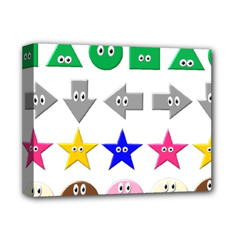 Cute Symbol Deluxe Canvas 14  X 11  by Nexatart