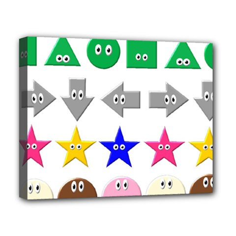 Cute Symbol Deluxe Canvas 20  X 16   by Nexatart
