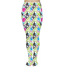 Cool Graffiti Patterns  Women s Tights