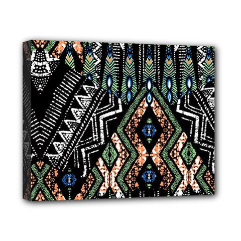 Ethnic Art Pattern Canvas 10  X 8  by Nexatart