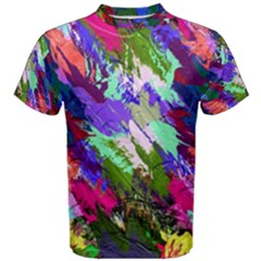 Tropical Jungle Print And Color Trends Men s Cotton Tee