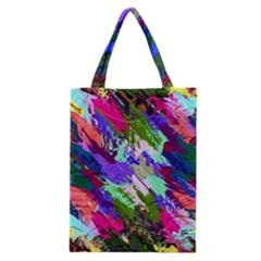 Tropical Jungle Print And Color Trends Classic Tote Bag by Nexatart