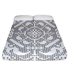Mosaic Pattern Cyberscooty Museum Pattern Fitted Sheet (queen Size) by Nexatart