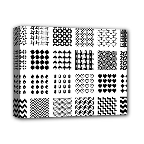 Retro Patterns Deluxe Canvas 14  X 11