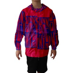 Funny Foggy Thing Hooded Wind Breaker (kids) by Nexatart