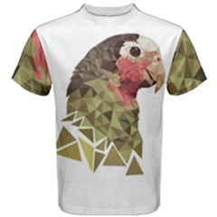 Cotorra (parrot) Design Men s Cotton Tee by Mannynyc