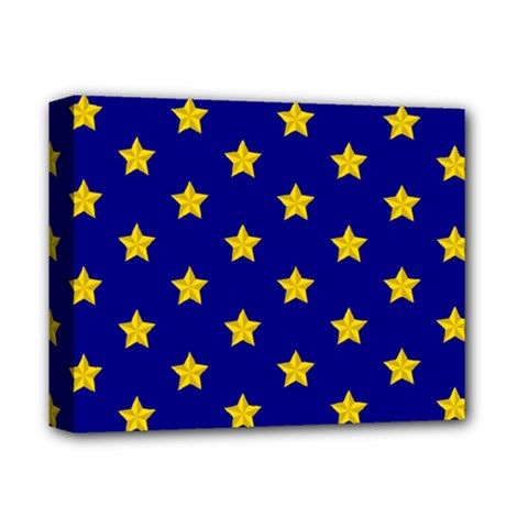 Star Pattern Deluxe Canvas 14  X 11  by Nexatart