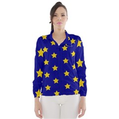 Star Pattern Wind Breaker (women)