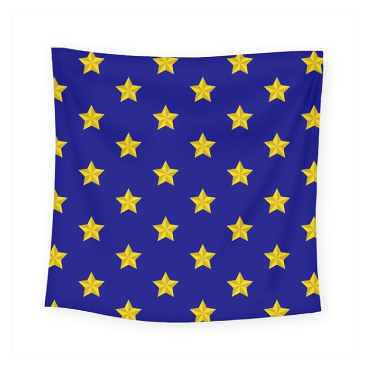 Star Pattern Square Tapestry (Small)