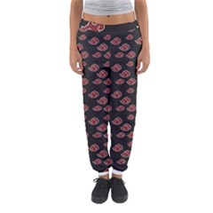 Cloud Red Brown Women s Jogger Sweatpants by Mariart
