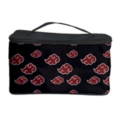 Cloud Red Brown Cosmetic Storage Case by Mariart