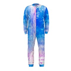 Horoscope Compatibility Love Romance Star Signs Zodiac Onepiece Jumpsuit (kids) by Mariart