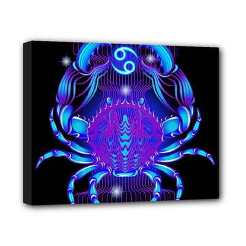 Sign Cancer Zodiac Canvas 10  X 8  by Mariart