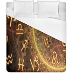 Romance Zodiac Star Space Duvet Cover (california King Size) by Mariart