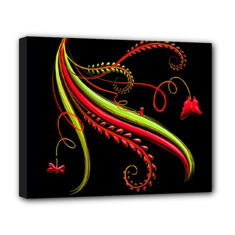 Cool Pattern Designs Deluxe Canvas 20  X 16   by Nexatart