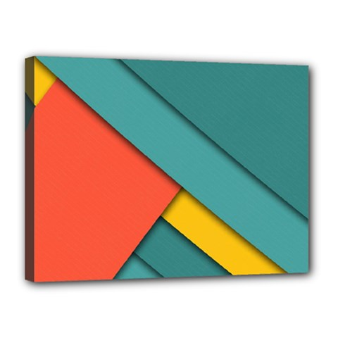 Color Schemes Material Design Wallpaper Canvas 16  X 12  by Nexatart