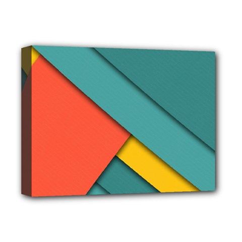 Color Schemes Material Design Wallpaper Deluxe Canvas 16  X 12   by Nexatart