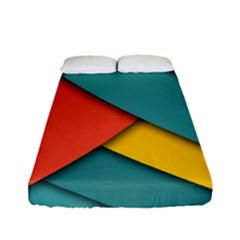 Color Schemes Material Design Wallpaper Fitted Sheet (full/ Double Size)