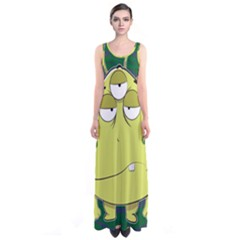 The Most Ugly Alien Ever Sleeveless Maxi Dress by Catifornia