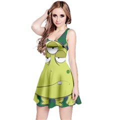 The Most Ugly Alien Ever Reversible Sleeveless Dress by Catifornia