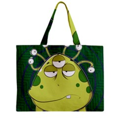 The Most Ugly Alien Ever Medium Tote Bag by Catifornia