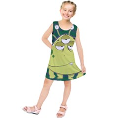 The Most Ugly Alien Ever Kids  Tunic Dress by Catifornia