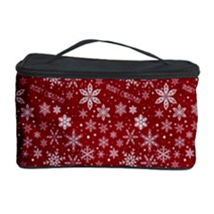 Merry Christmas Pattern Cosmetic Storage Case by Nexatart