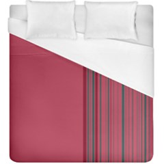Lines Duvet Cover (king Size) by ValentinaDesign
