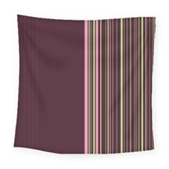 Lines Square Tapestry (large) by ValentinaDesign