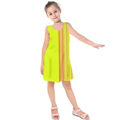 Lines Kids  Sleeveless Dress by ValentinaDesign