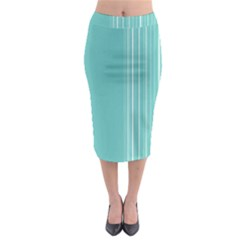 Lines Midi Pencil Skirt by ValentinaDesign