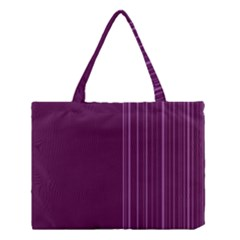 Lines Medium Tote Bag by ValentinaDesign