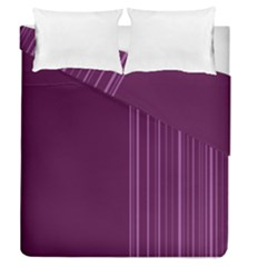 Lines Duvet Cover Double Side (queen Size)