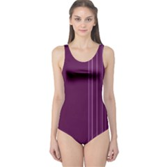 Lines One Piece Swimsuit