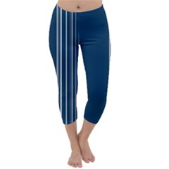 Lines Capri Winter Leggings
