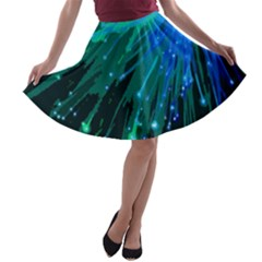 Big Bang A Line Skater Skirt by ValentinaDesign