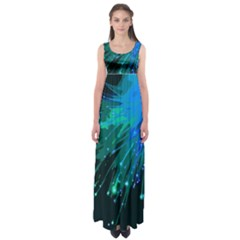 Big Bang Empire Waist Maxi Dress by ValentinaDesign