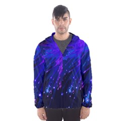 Big Bang Hooded Wind Breaker (men) by ValentinaDesign