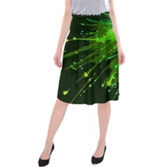Big Bang Midi Beach Skirt by ValentinaDesign