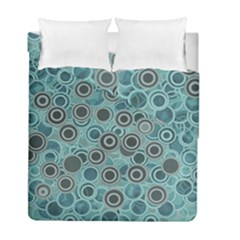 Abstract Aquatic Dream Duvet Cover Double Side (full/ Double Size) by Ivana