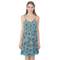 Abstract Aquatic Dream Camis Nightgown by Ivana