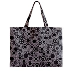 Abstract Grey End Of Day Mini Tote Bag