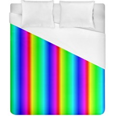Rainbow Gradient Duvet Cover (california King Size)